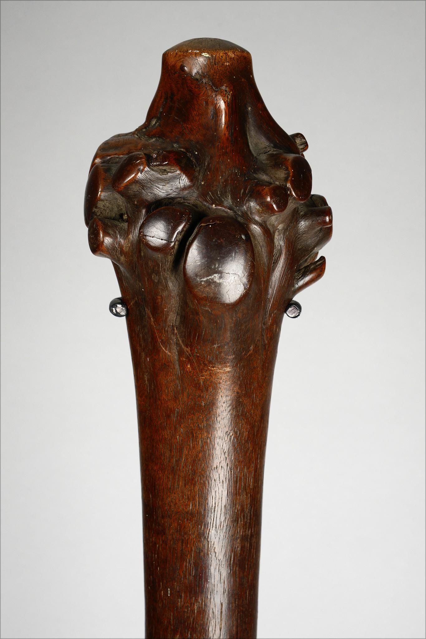 "Wurzelstock-Keule ""dromudromu"" oder ""vunikau"", 19. Jahrhundert"