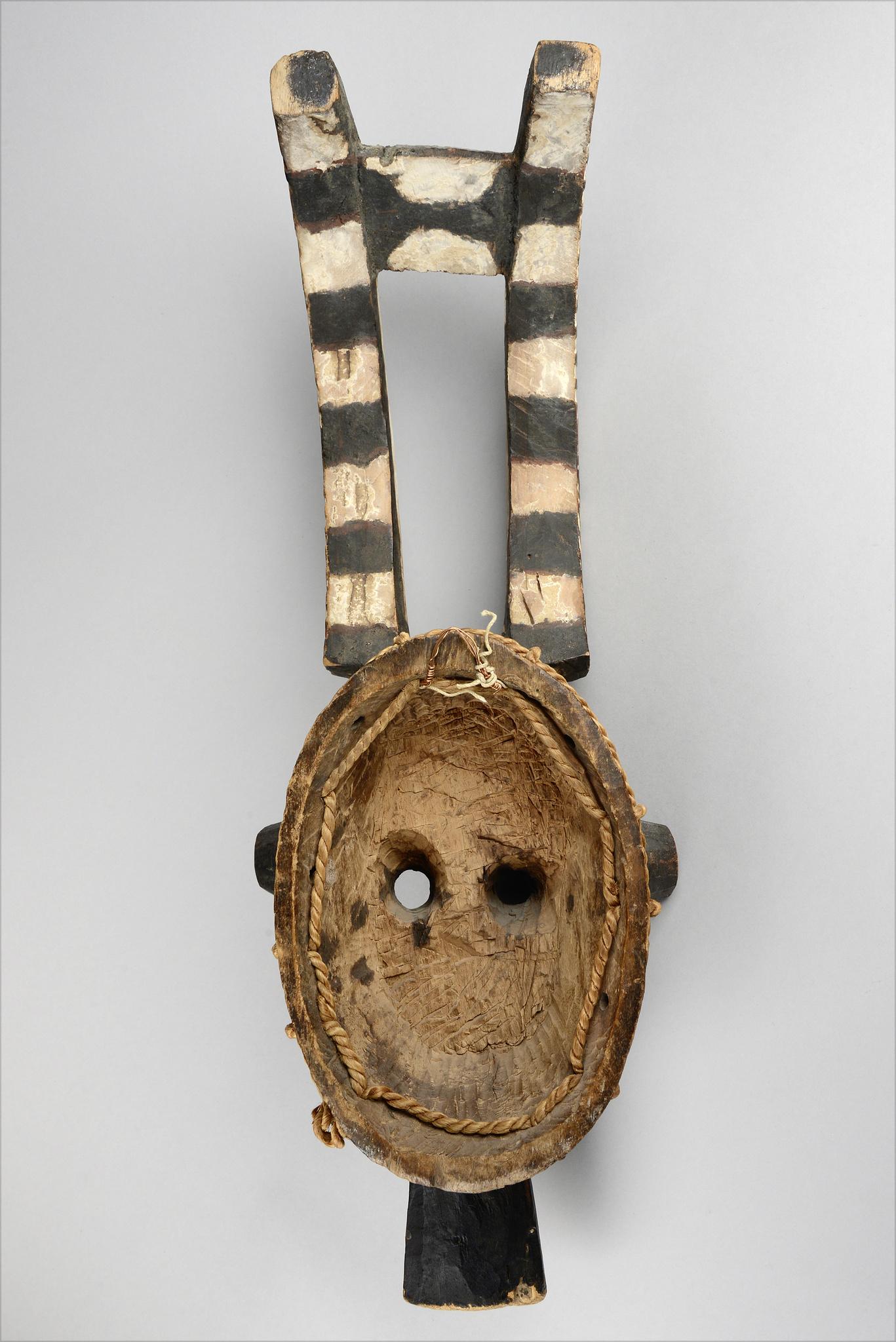 """Weibliche Buschgeistmaske """"taba"""" oder Antilopenmaske """"kou"""""""