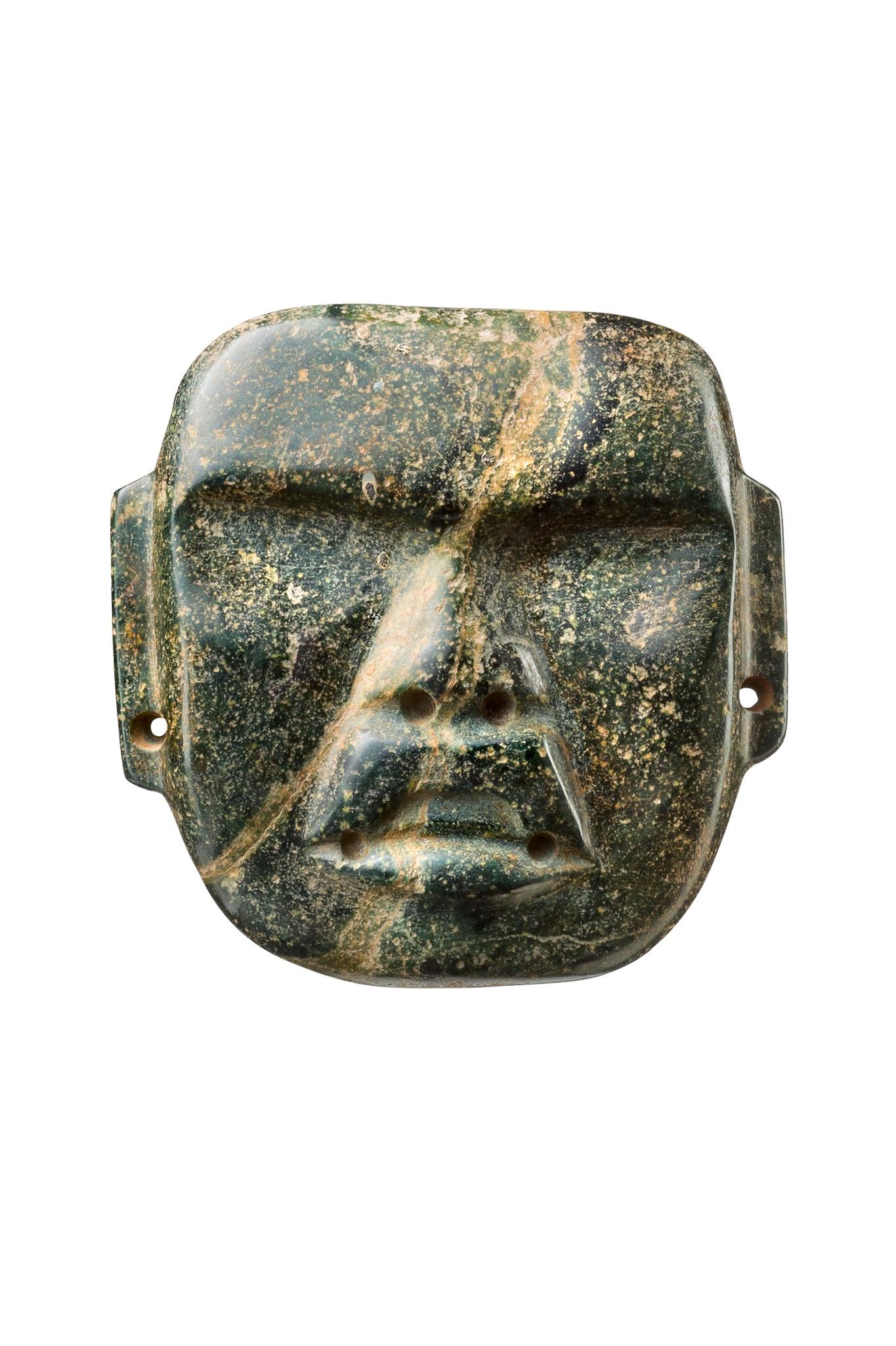Mask face, ca. 1200-400 BC