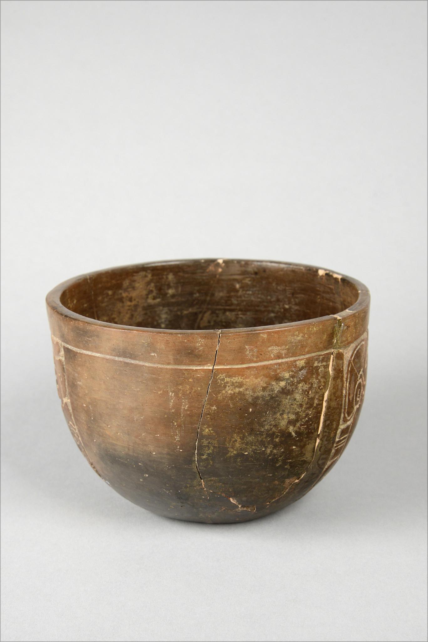 Late Classic Maya bowl