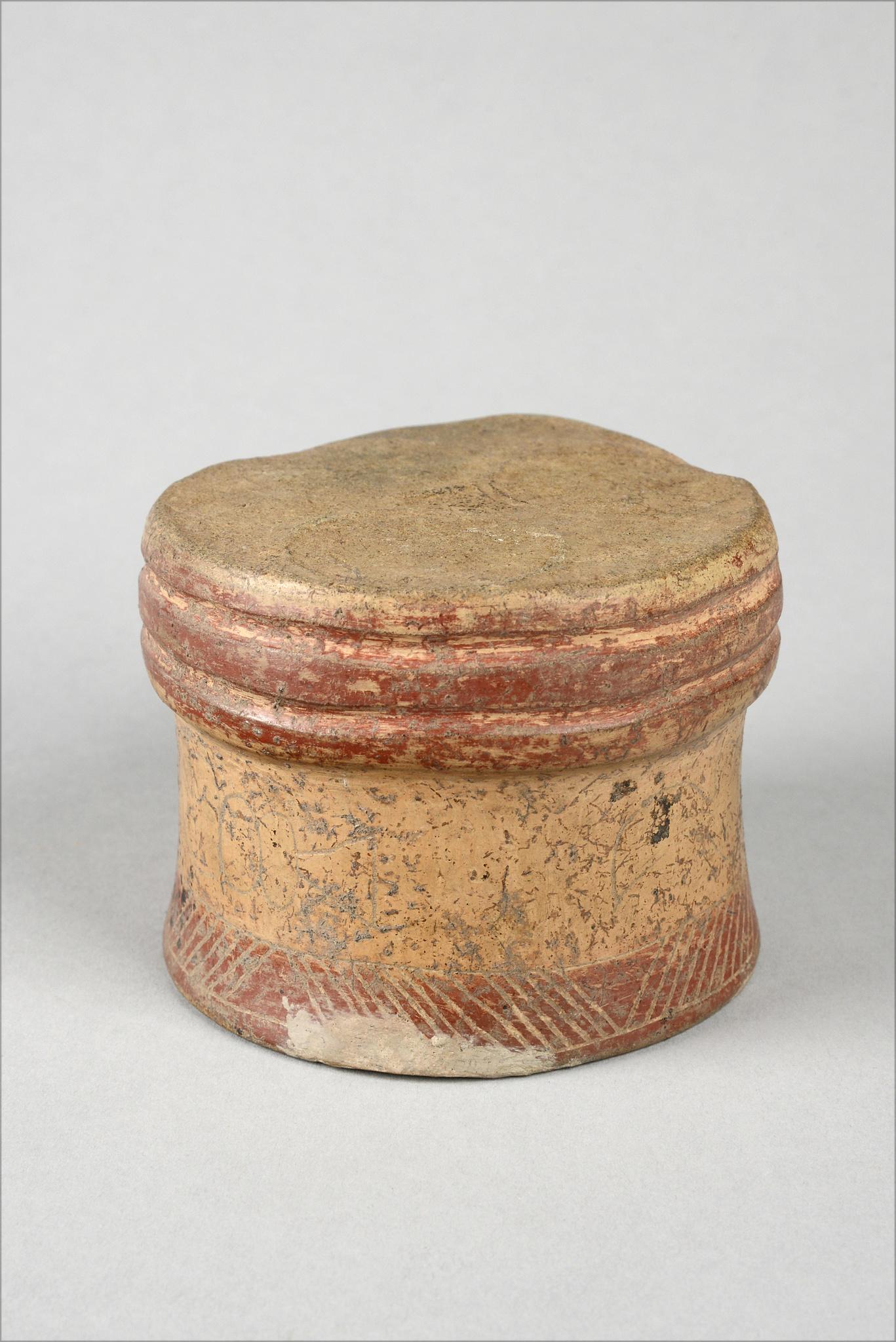 Face vessel, ca. 500 BC
