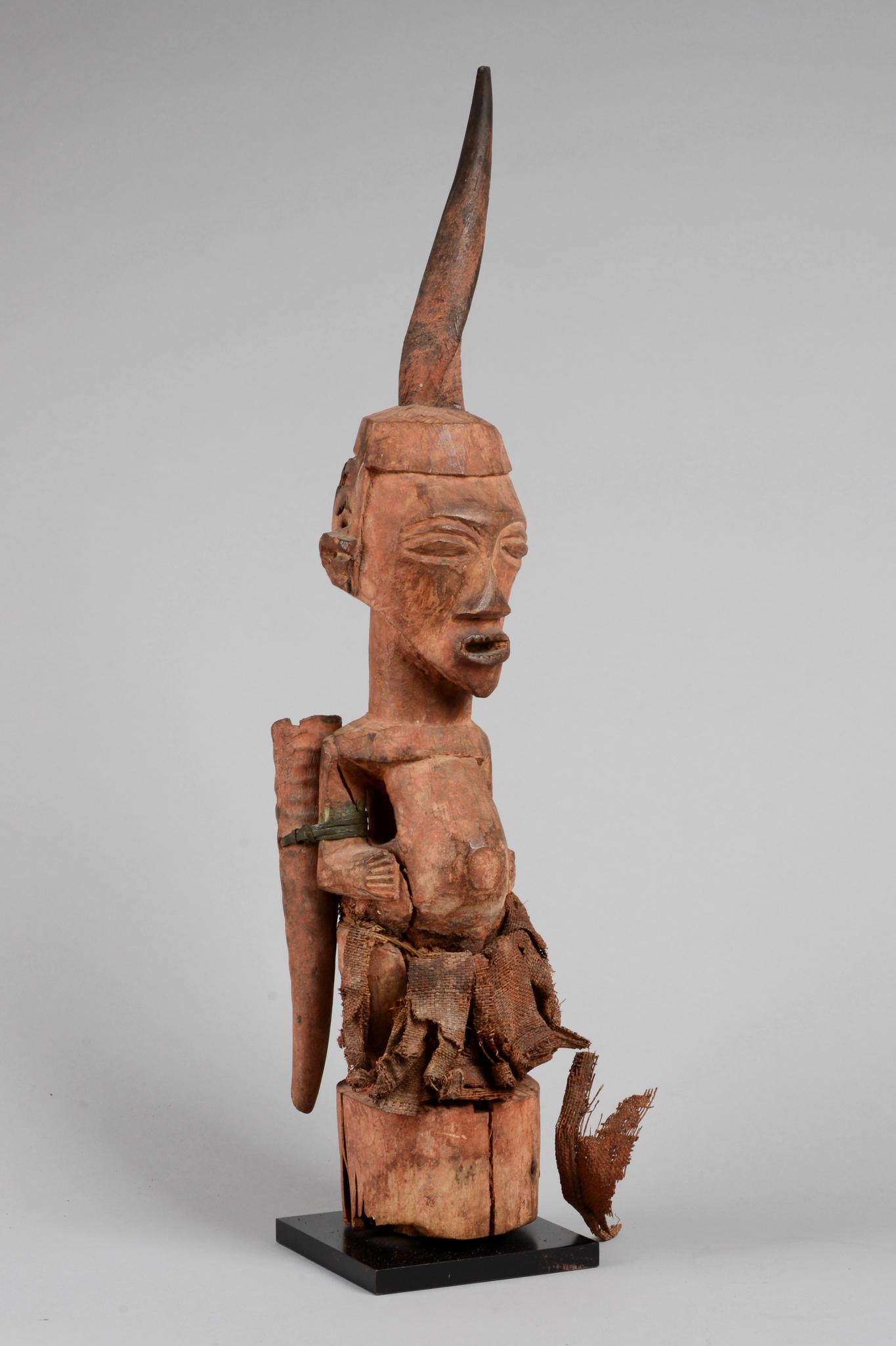 """Male power figure """"nkisi/ nkishi"""""""