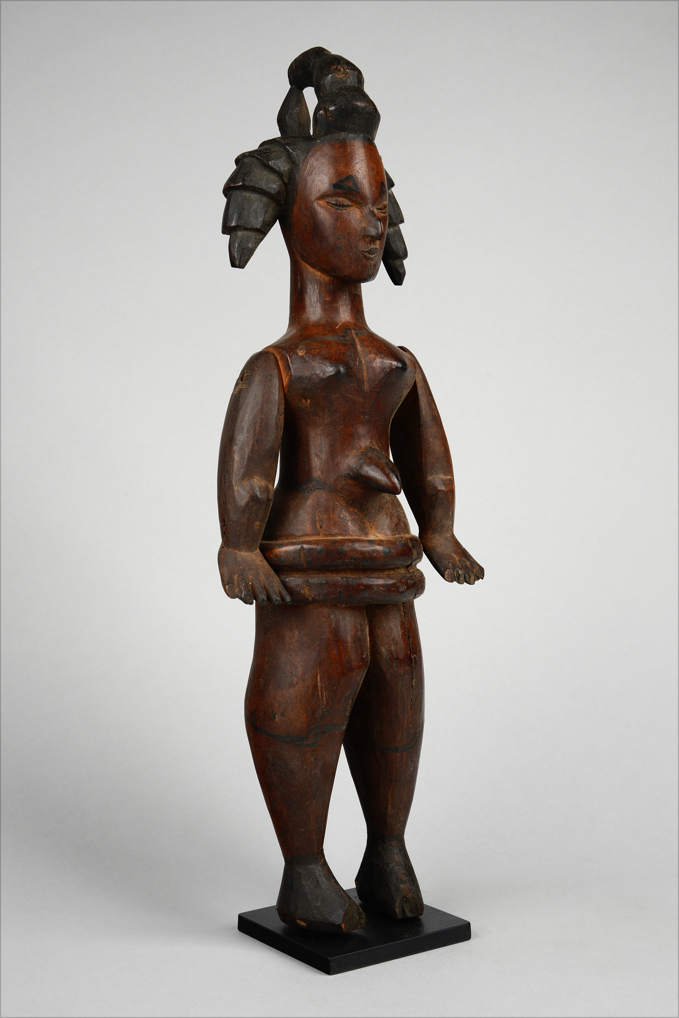 Female puppet figure/ doll with movable arms