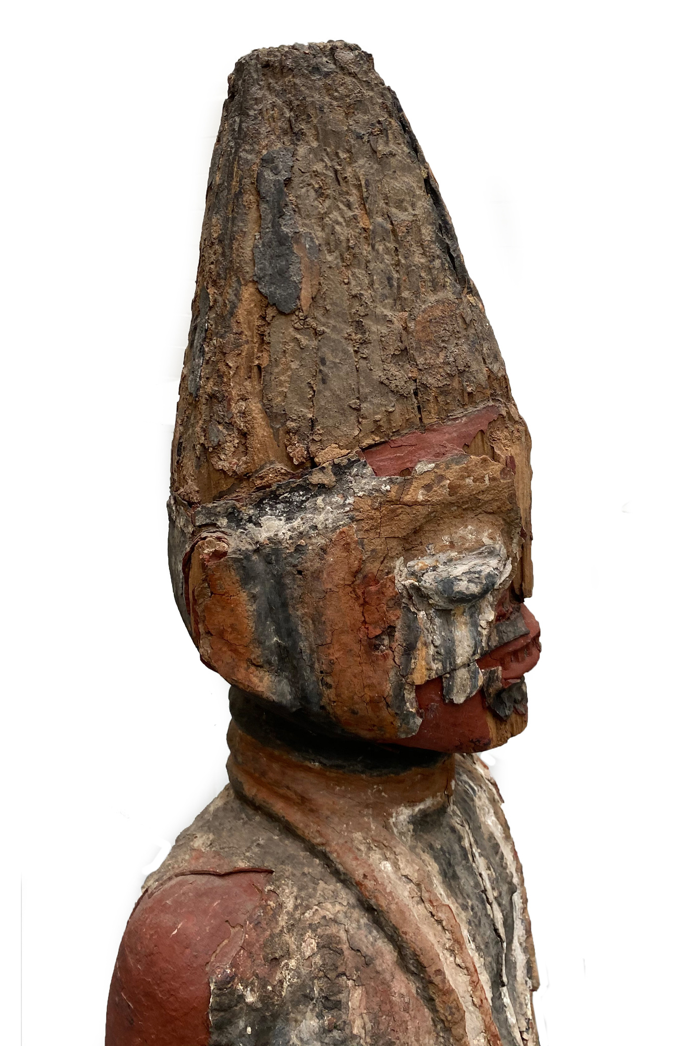 Rare courtly shrine figure, 17th/18th century