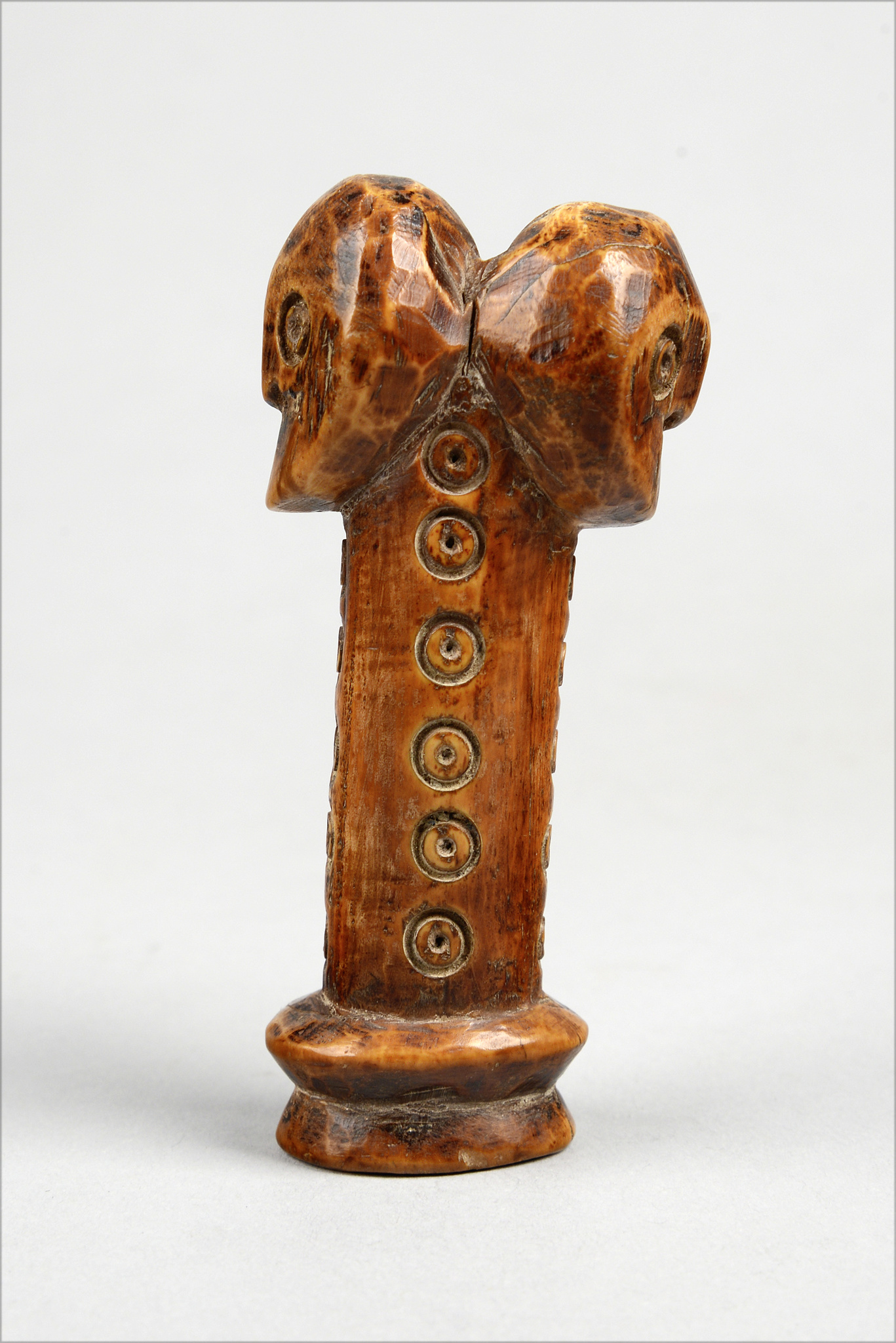 "Janus-headed figure ""sakimatwematwe"" (""Mr Many-Heads"")"