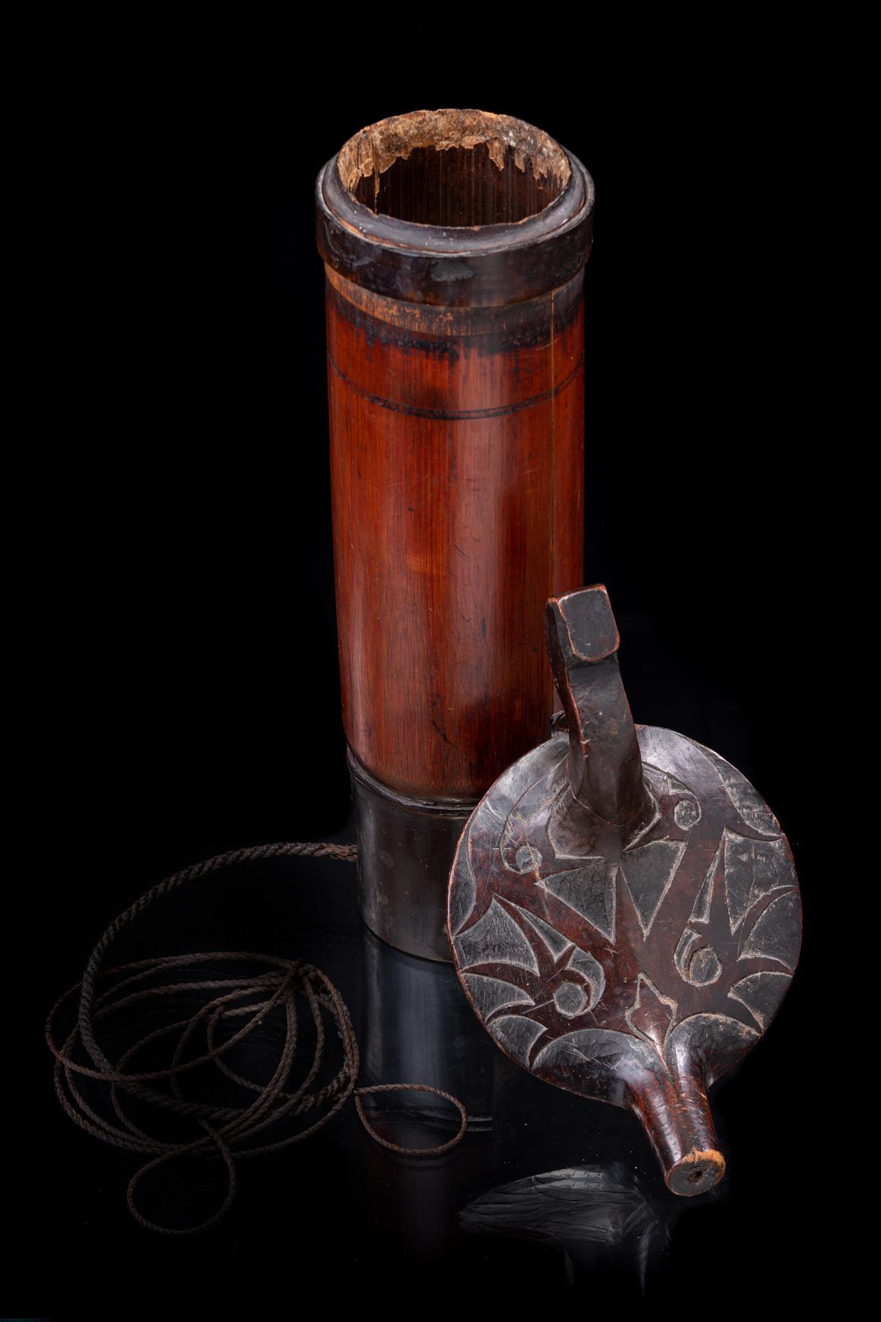 """Palm wine receptacle """"kitang"""", around 1920"""