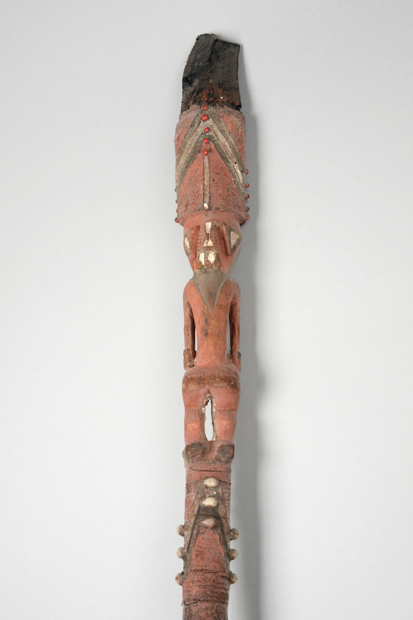 Spear with obsidian tip, before 1914