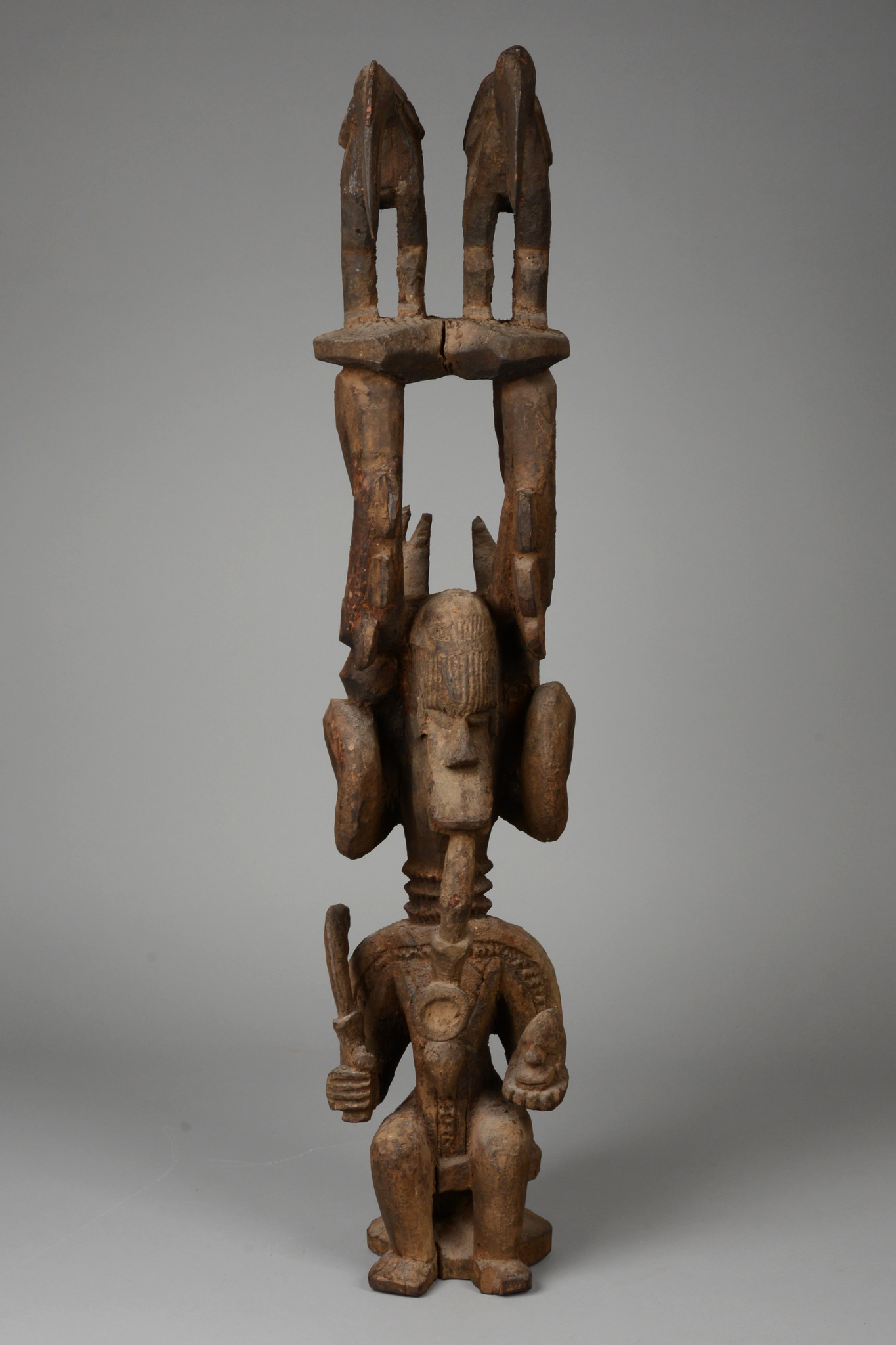 "Shrine figure ""ikenga"""