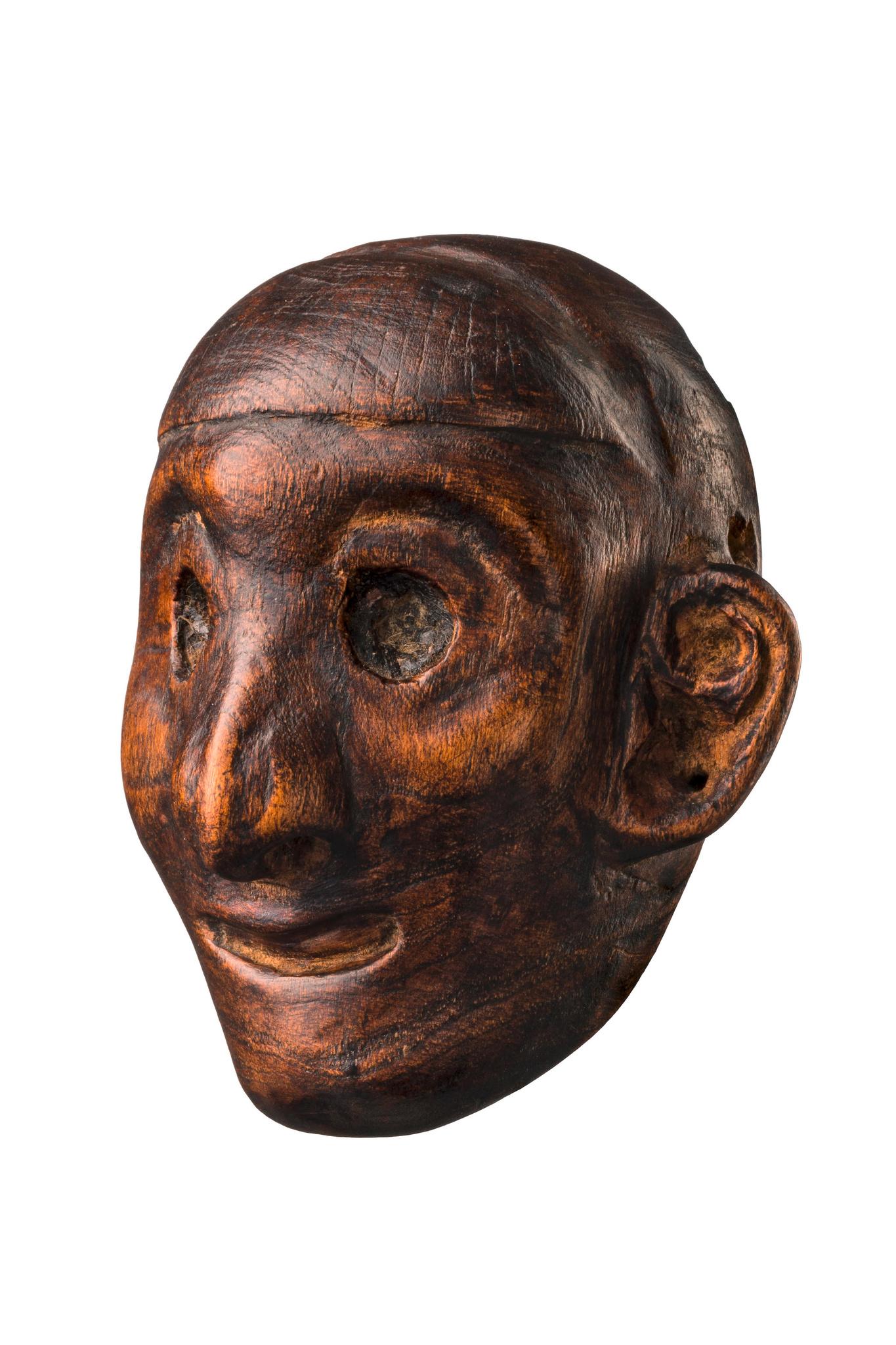 Headhunter's chest ornament
