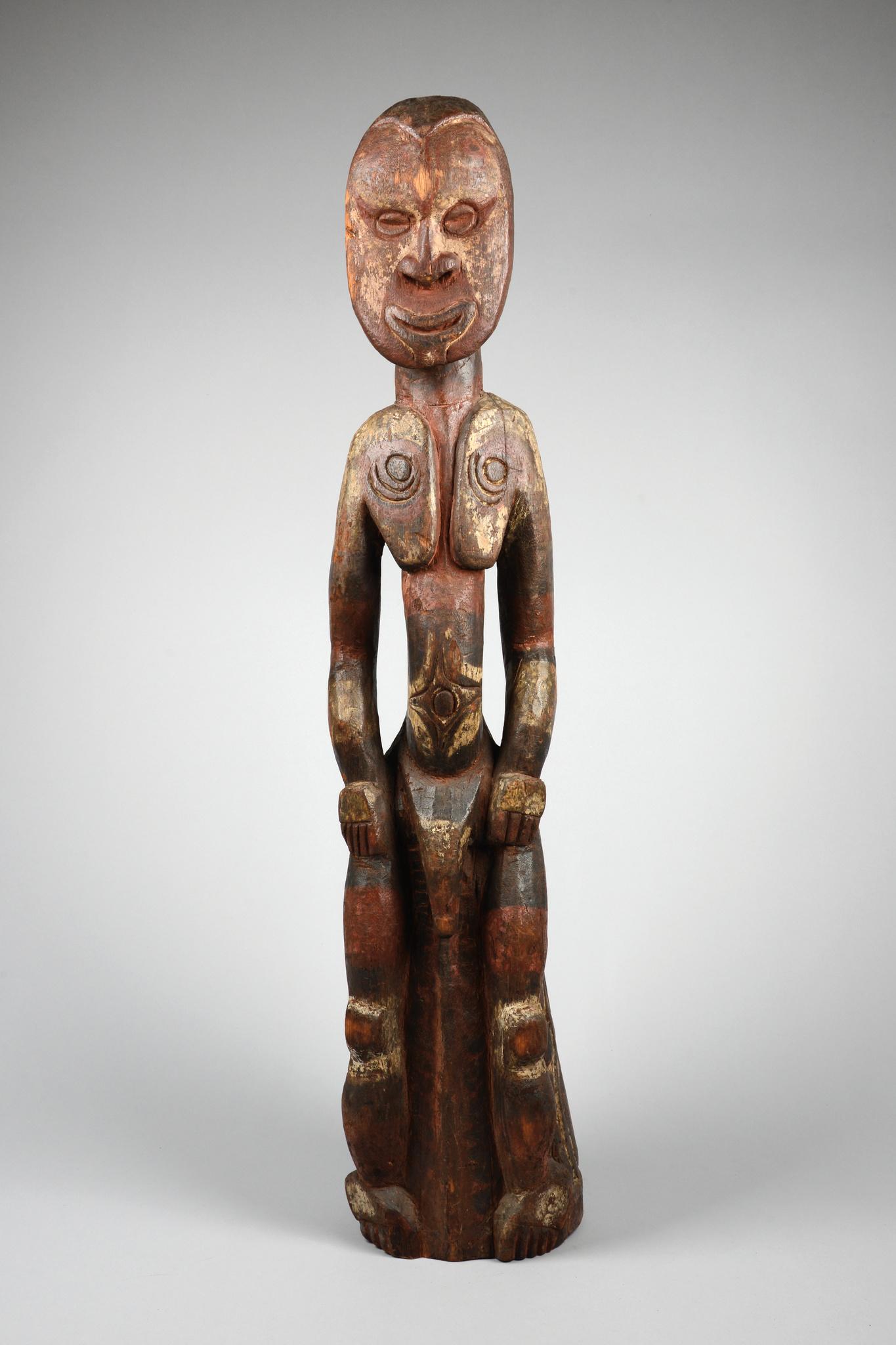 Giebel-/ Firstaufsatz in Gestalt einer männlichen Figur