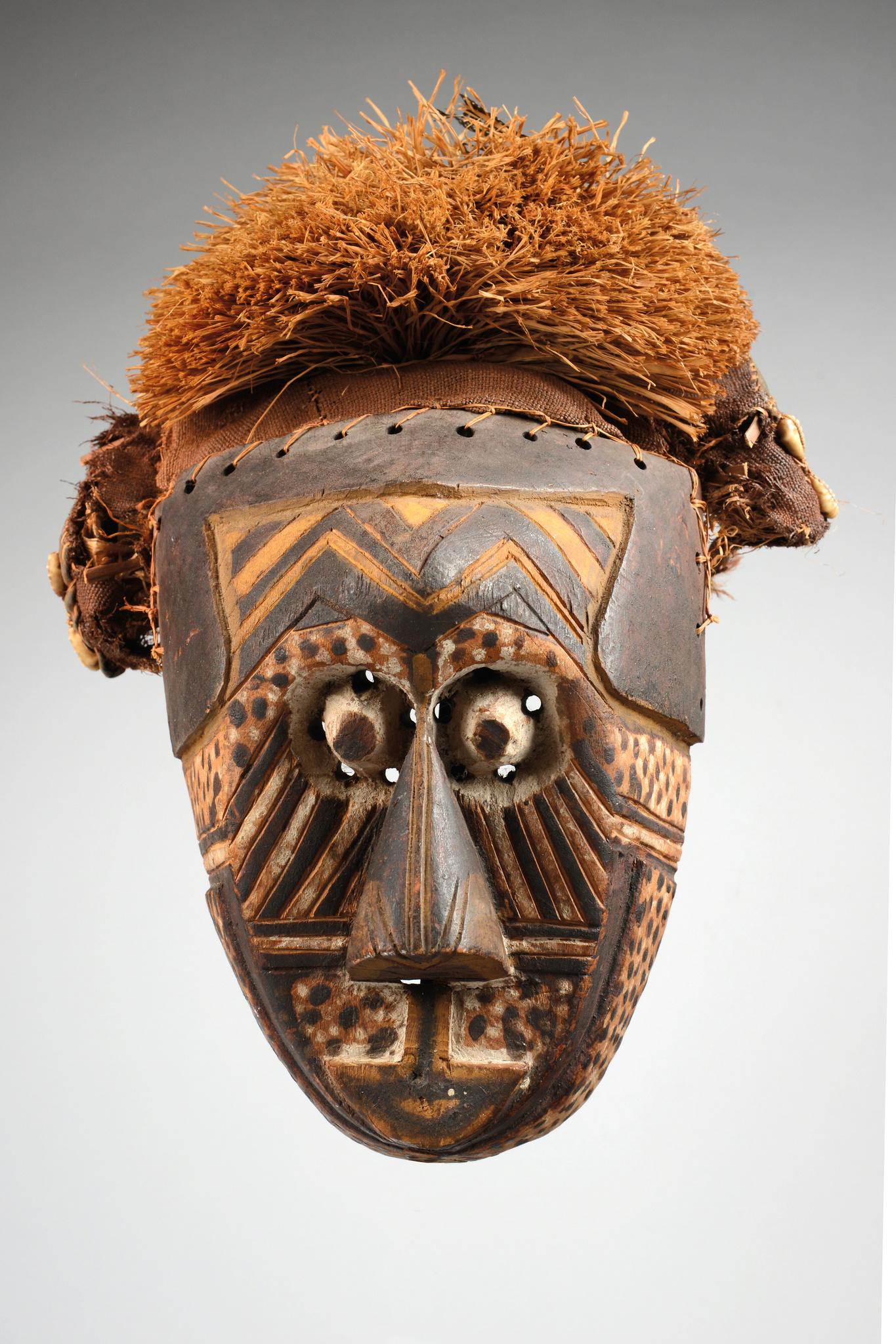 """Anthropomorphic mask """"ishyeen imaalu"""""""