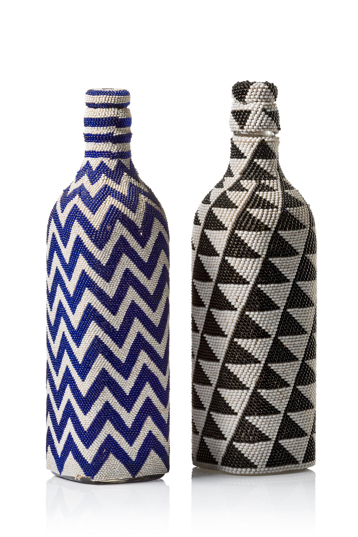 Two prestige or display bottles