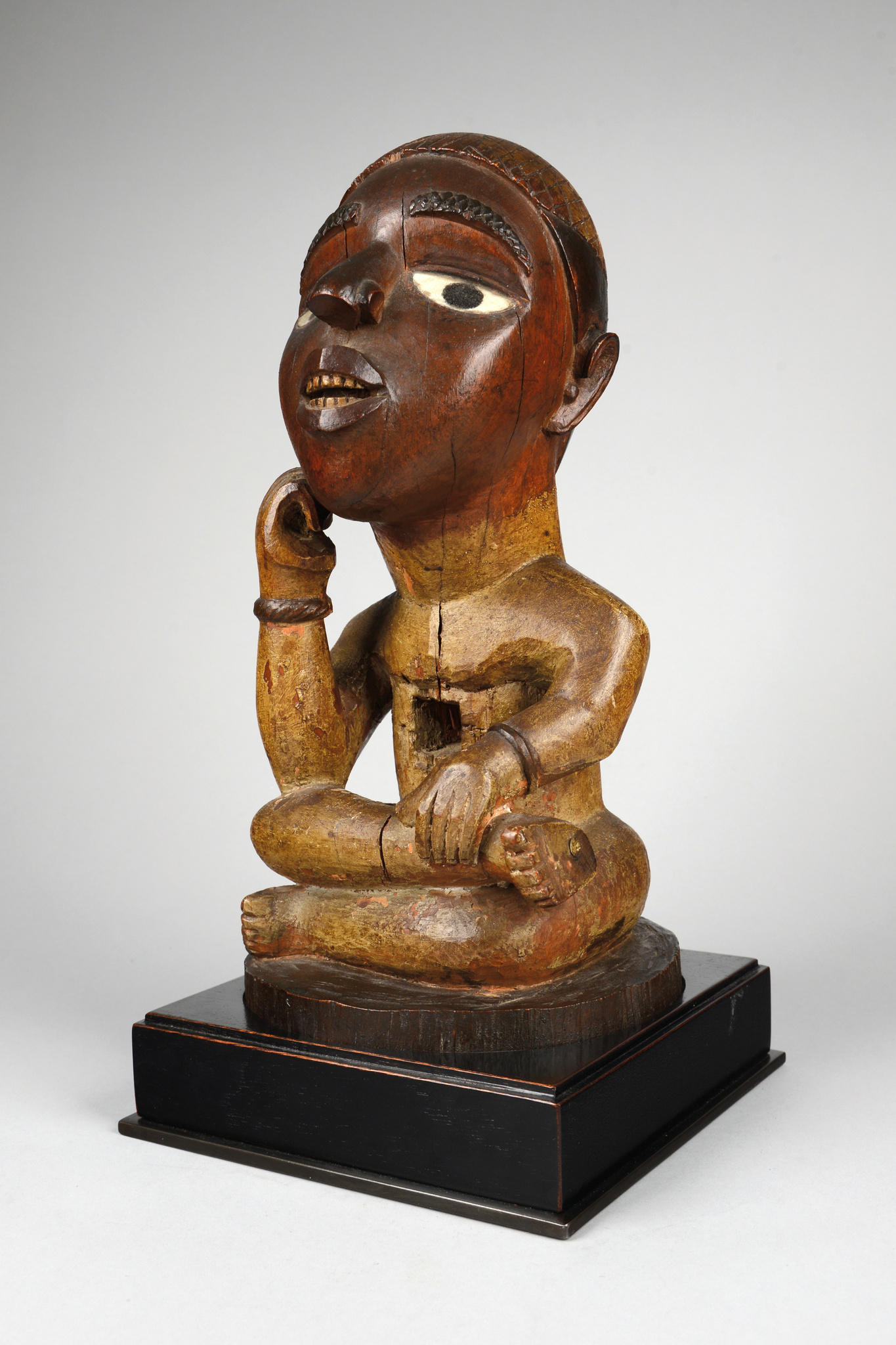 "Male power figure ""nkisi"" or memorial figure, before 1914"