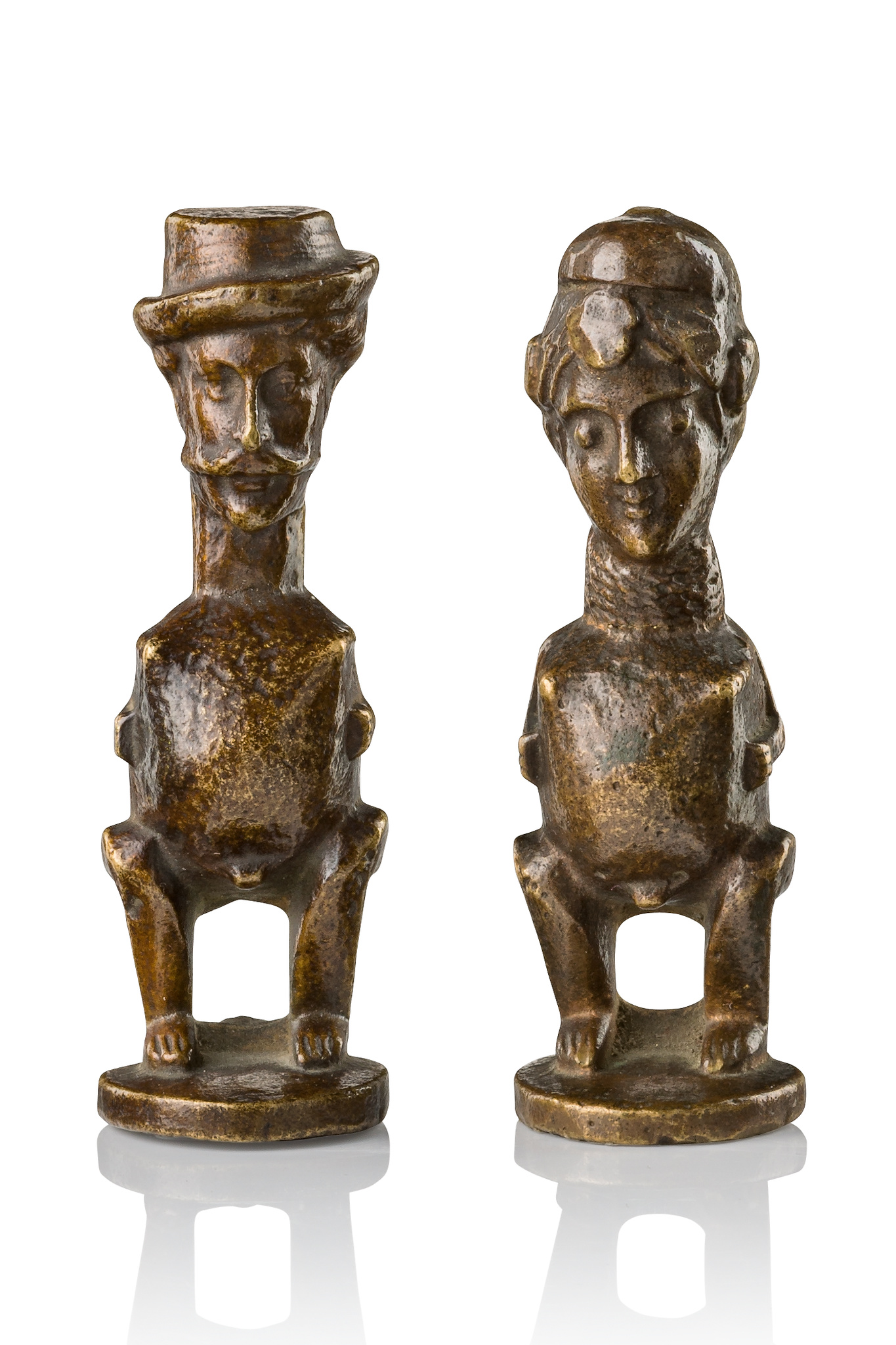 Two figures in colon style