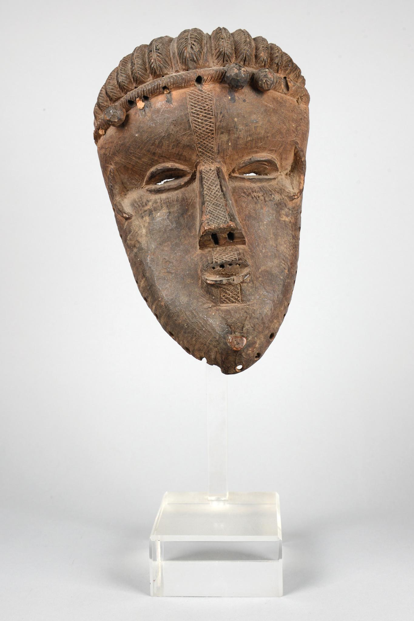 """Mask """"geh-naw"""" of the """"chu-den-zo"""" society"""
