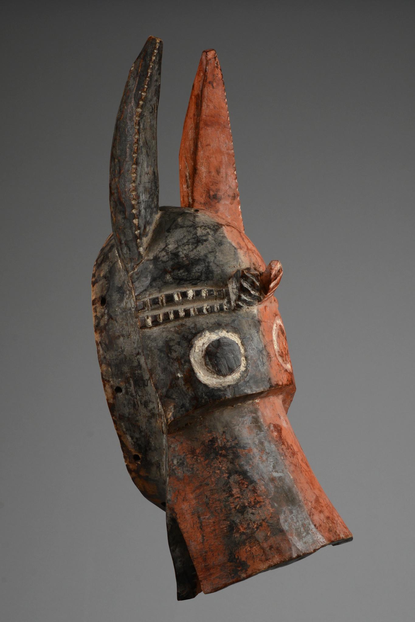 "Zoomorphe Helmmaske ""vabon"" (""va"" oder ""vaa-bong"")"