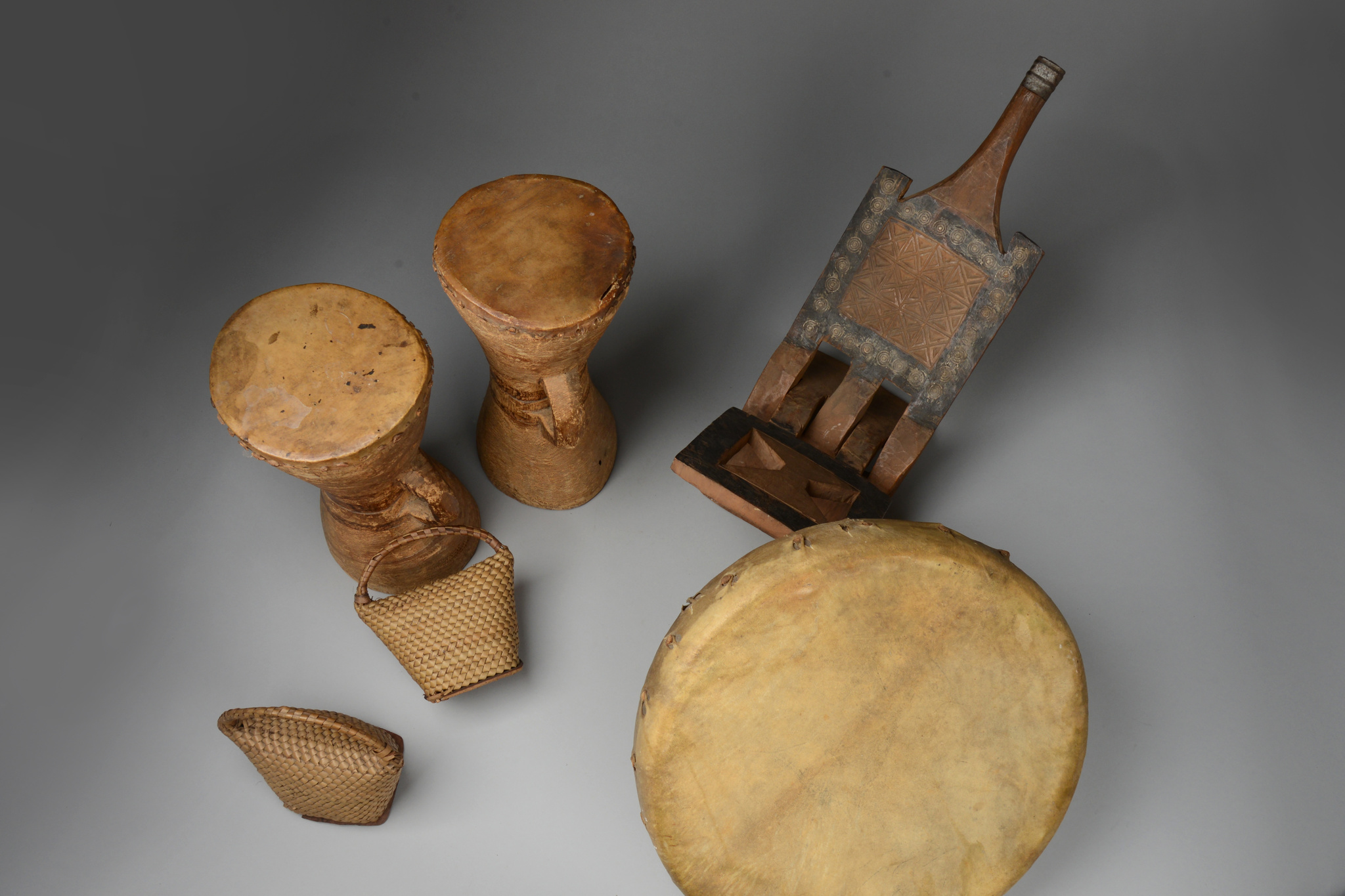 Group of ethnographic objects, before 1914