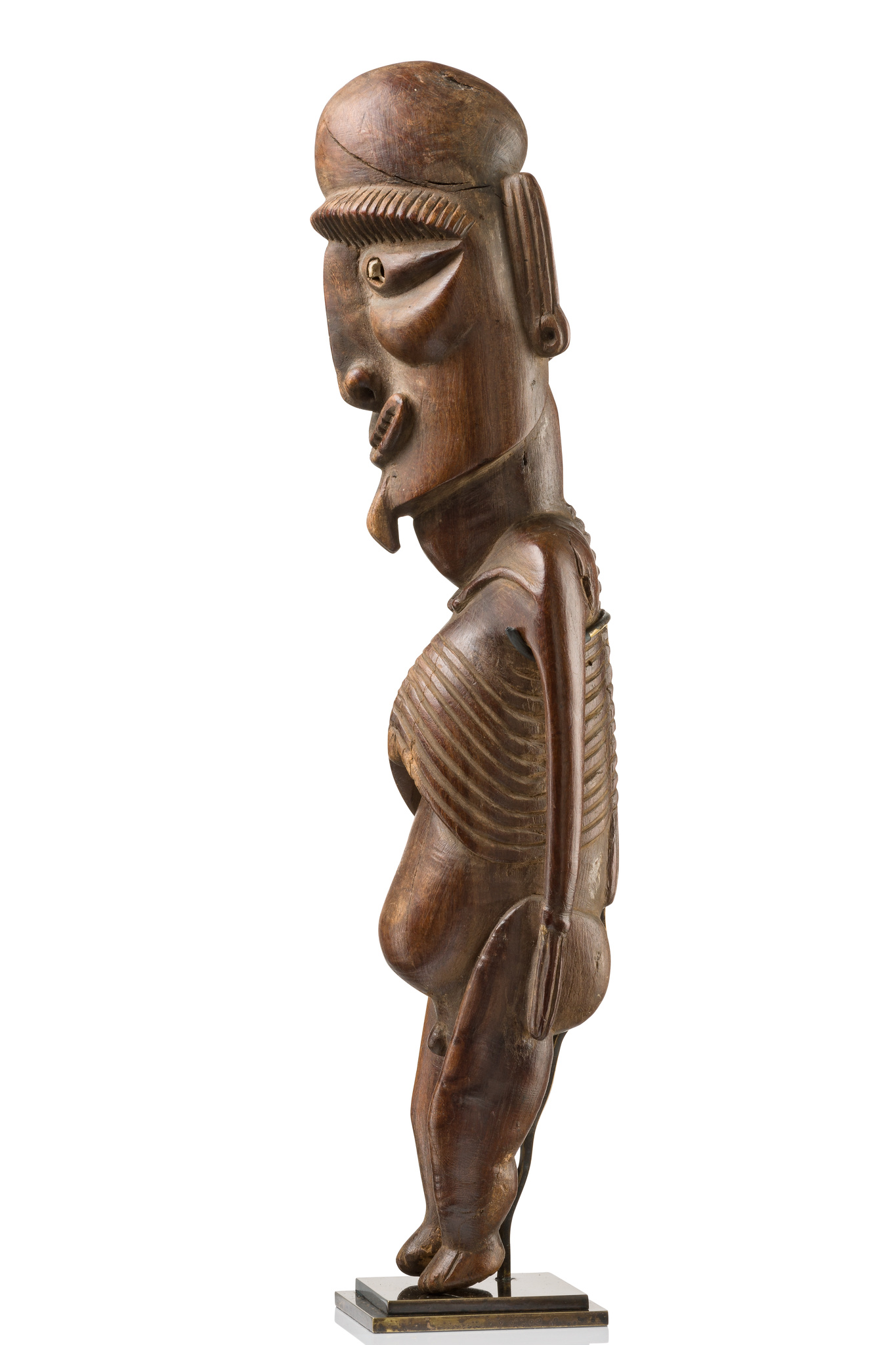 "Male figure ""moai kavakava"" (""rib figure"")"