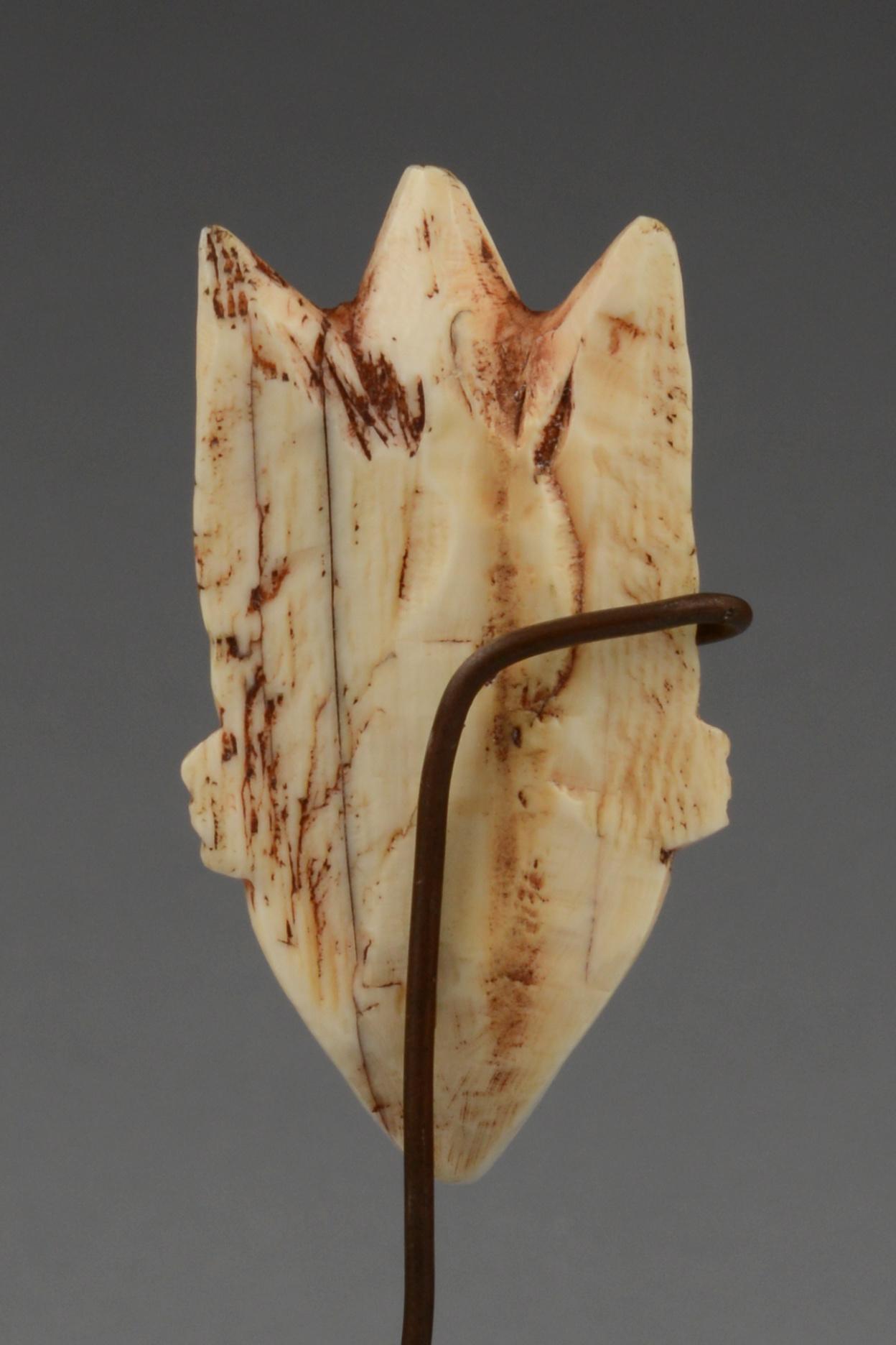 """Anthropomorphic amulet mask """"gikhoko"""" (pl. """"ikhoko"""")"""