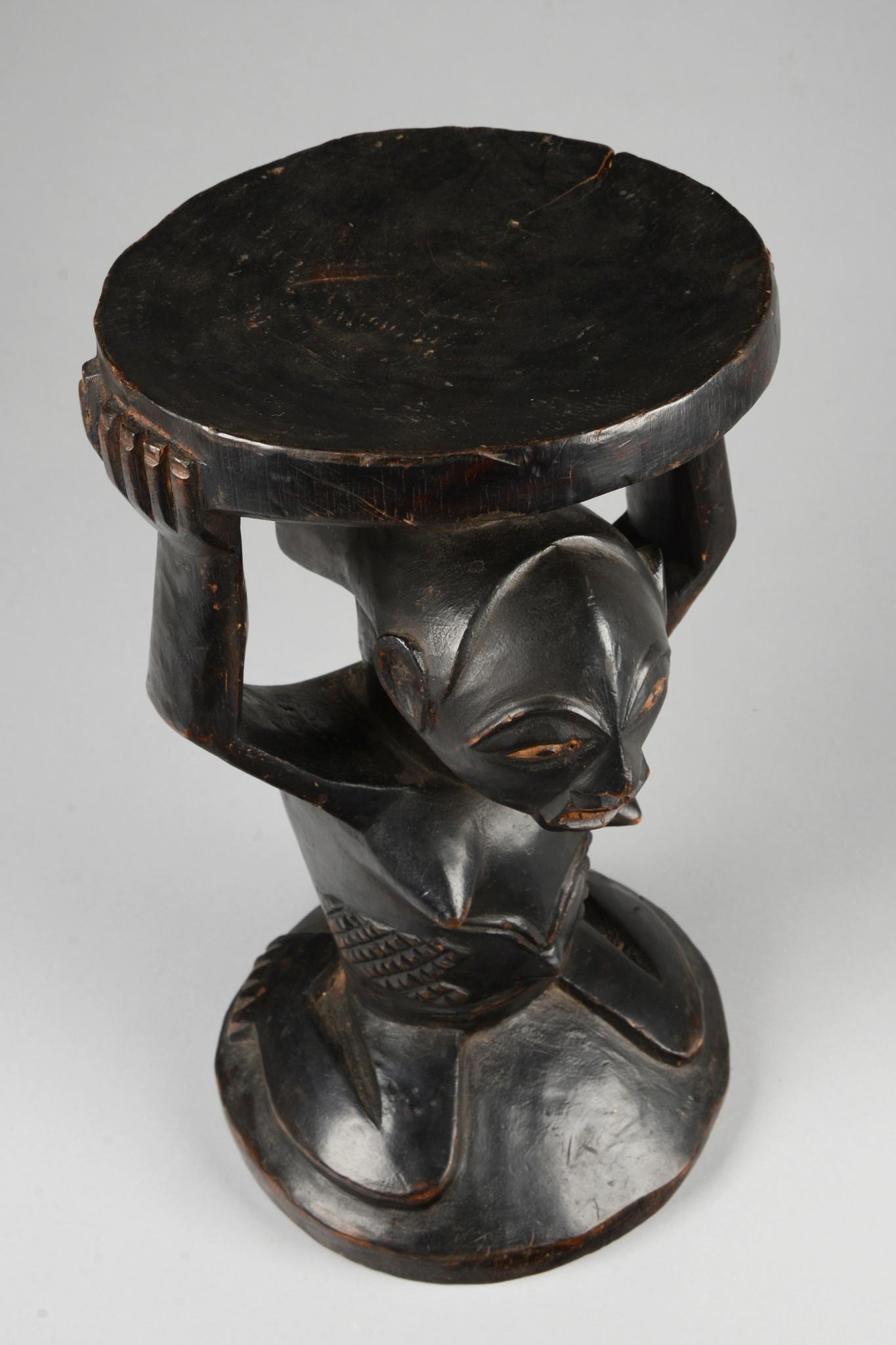 "Caryatid stool ""kipona"" (""kihona"")"