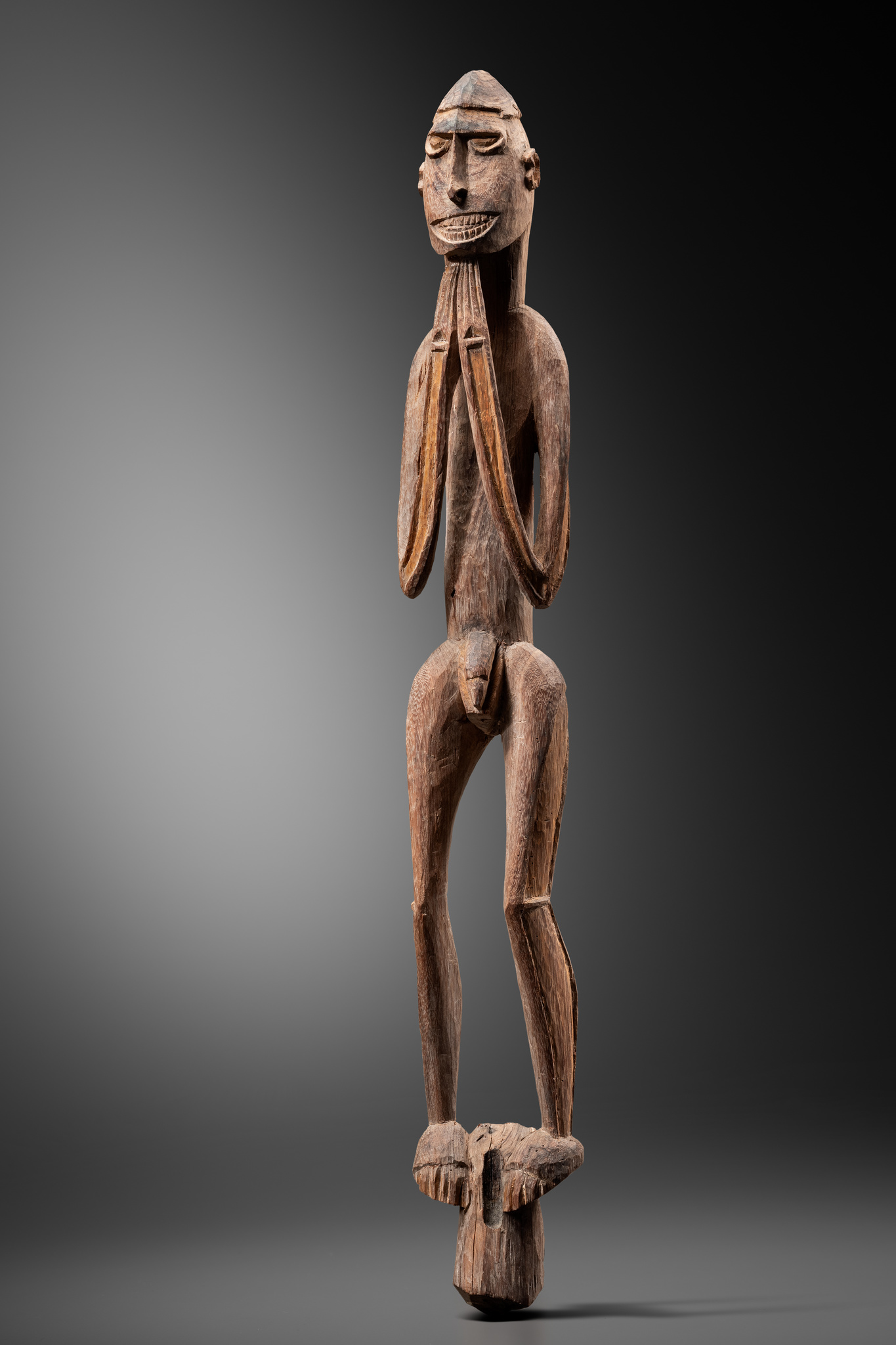 "Male ancestor figure ""kawe"""