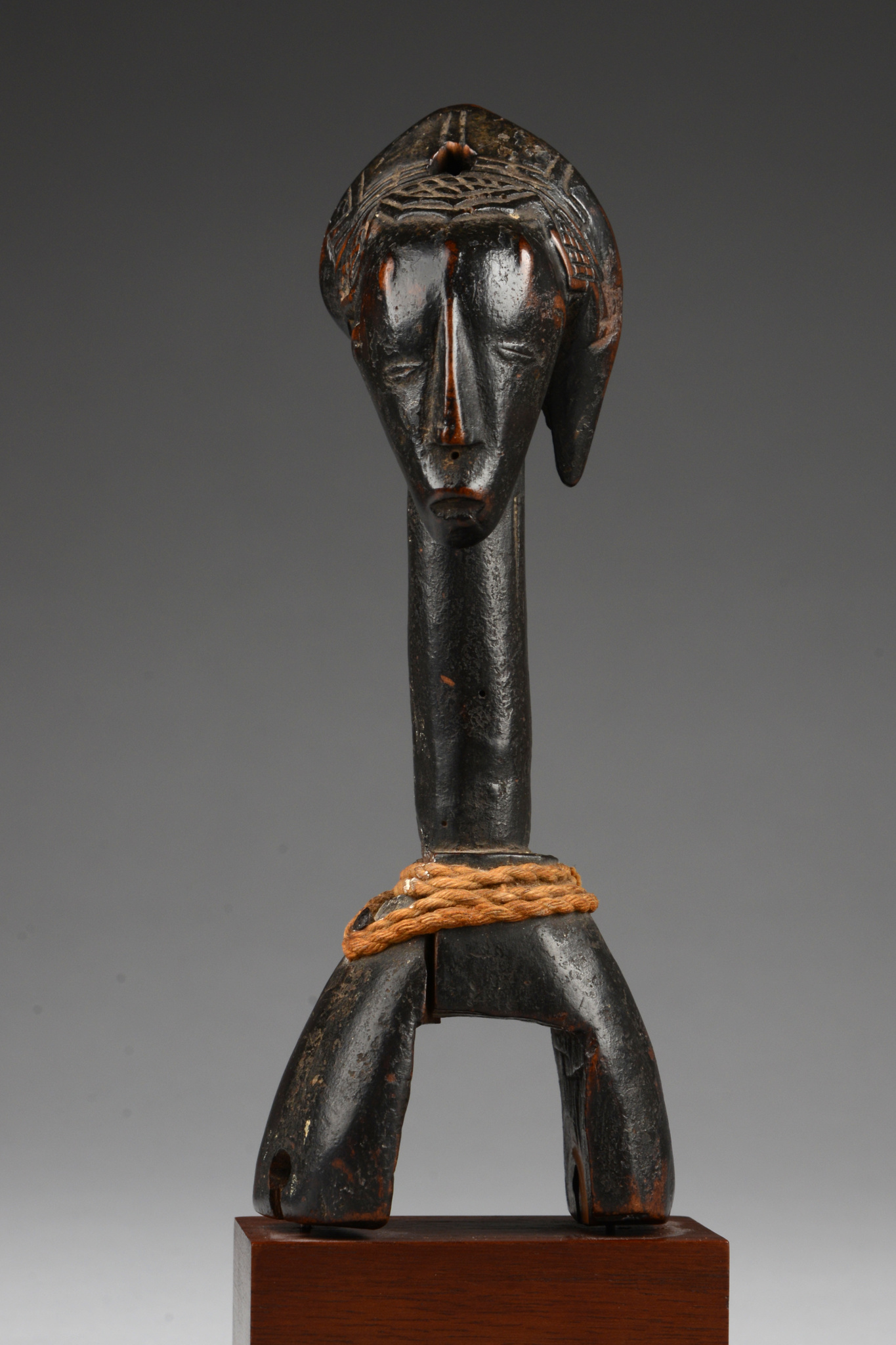 """Heddle pulley with anthropomorphic head """"kono"""""""