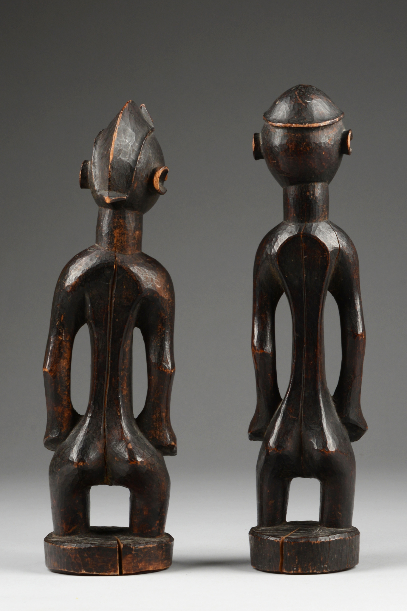 Male and female figure pair
