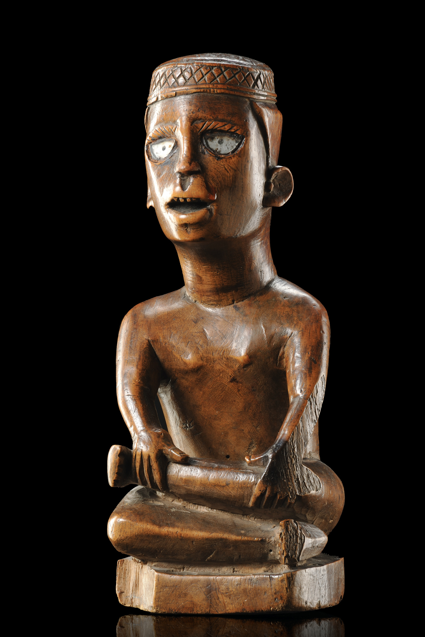 "Male power figure ""nkisi"" or memorial figure"