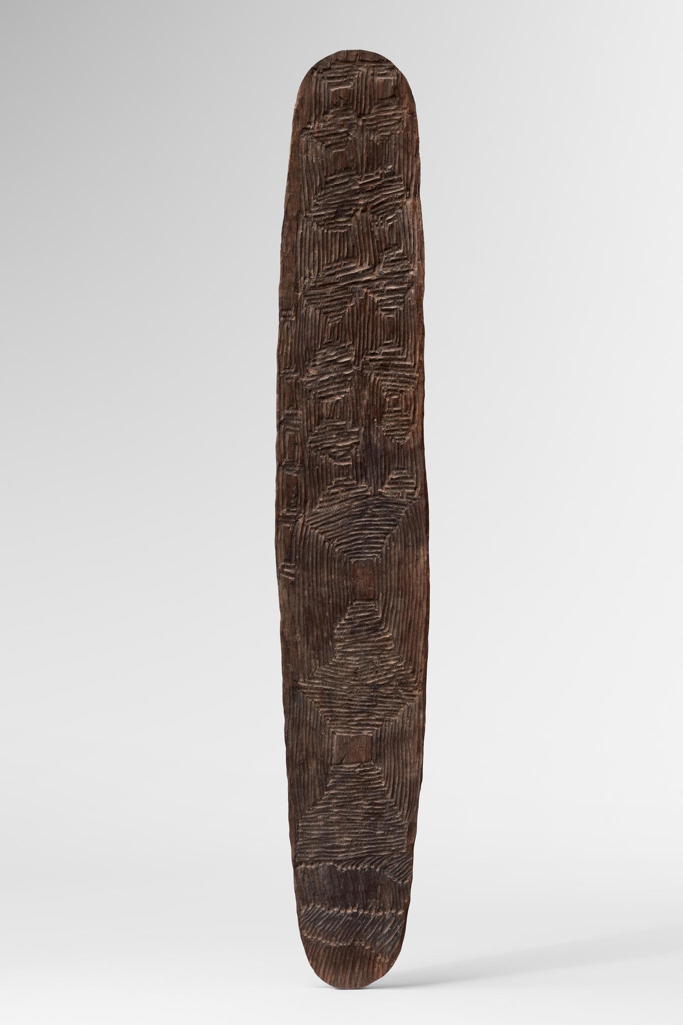 "Sacred board ""tjuringa"" (""churinga"", ""tjurunga""), 19th / 20th century"