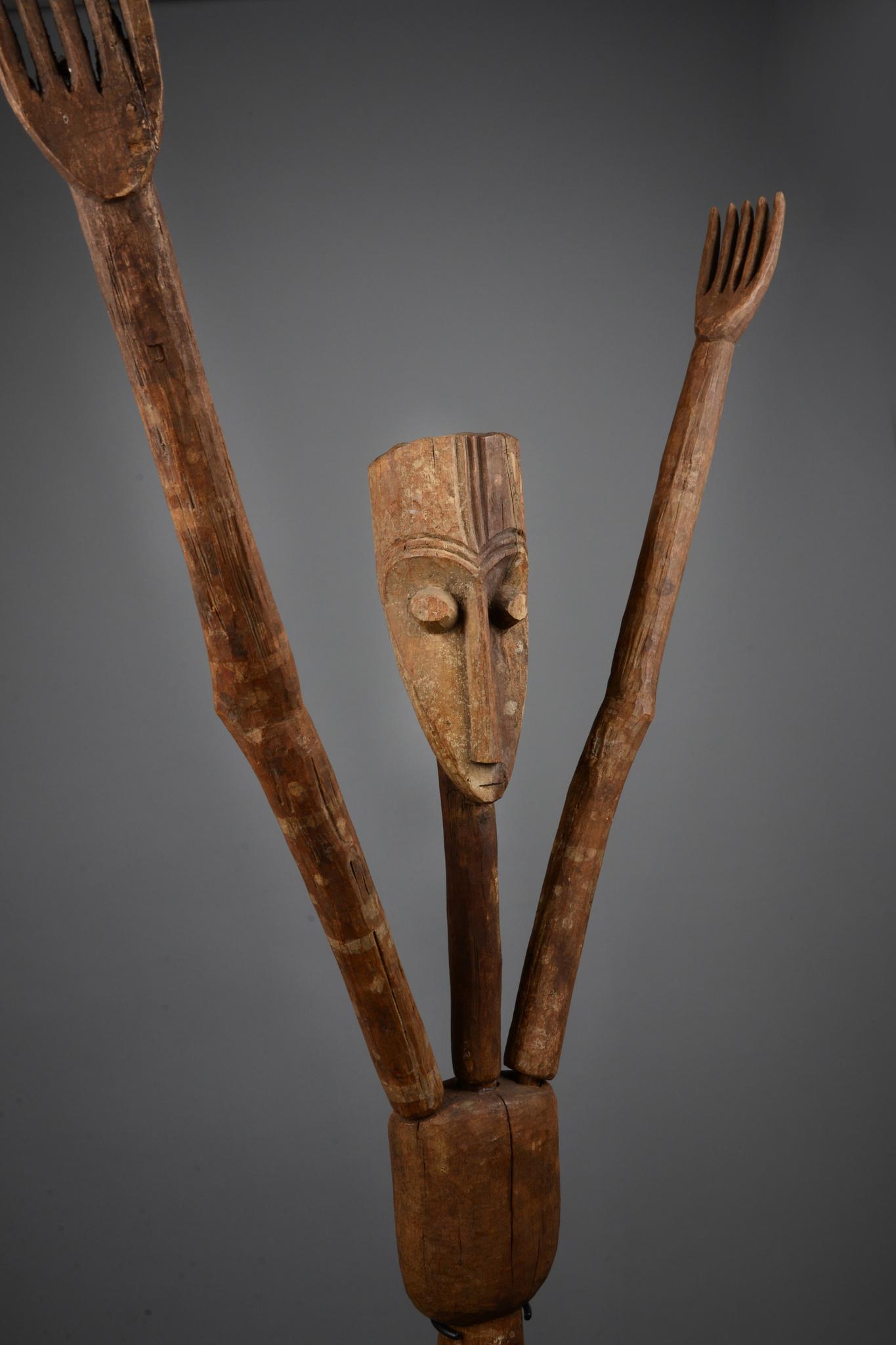 "Expressive male figure ""ubanga nyama"""