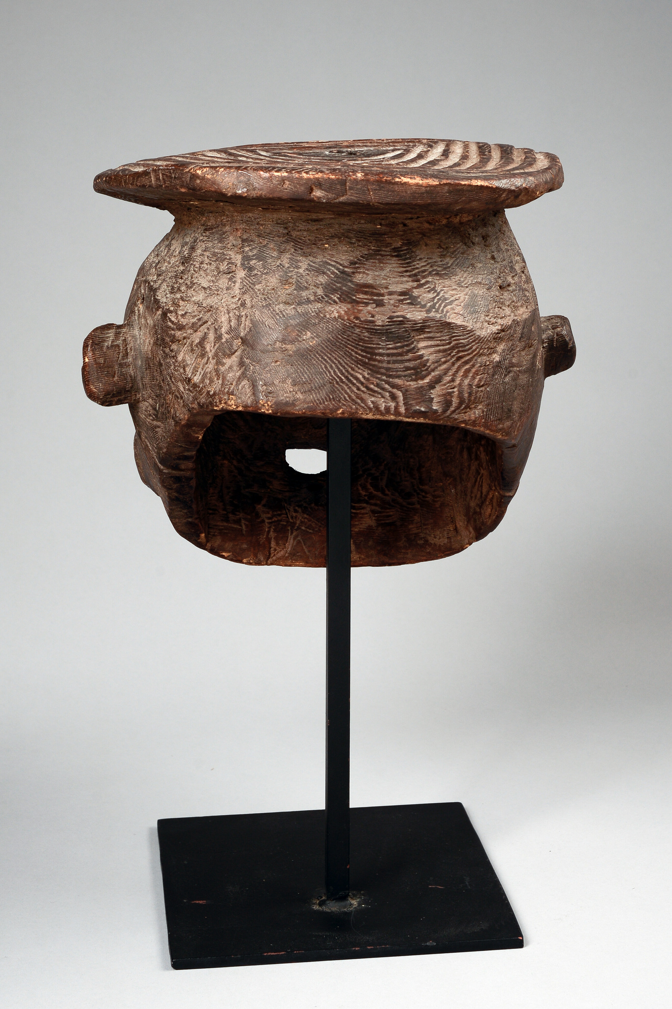 "Expressive helmet mask ""mabuh"" (""mambu"" or ""mabwo"")"