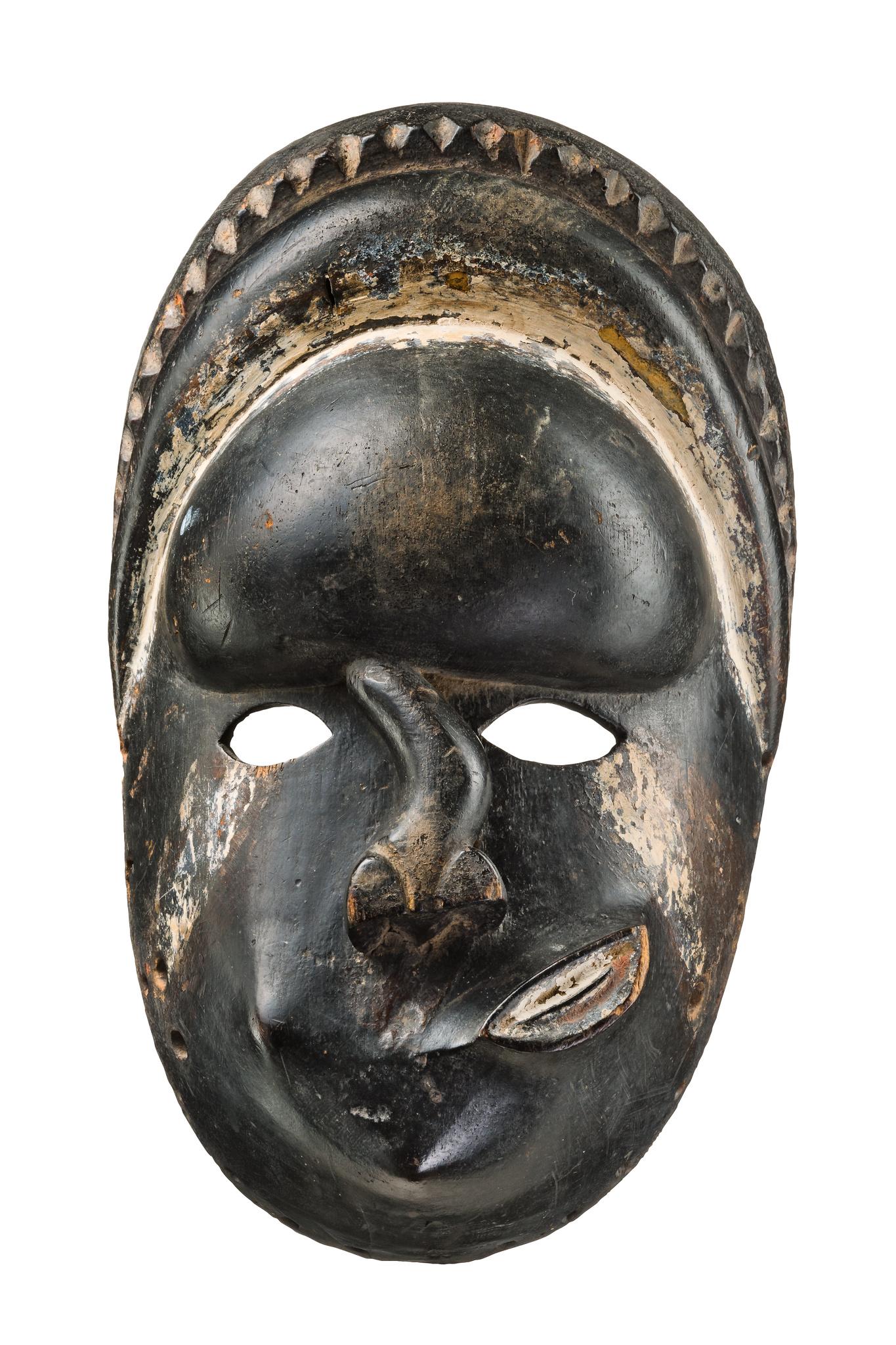 "Anthropomorphic face mask ""idiok ekpo"""