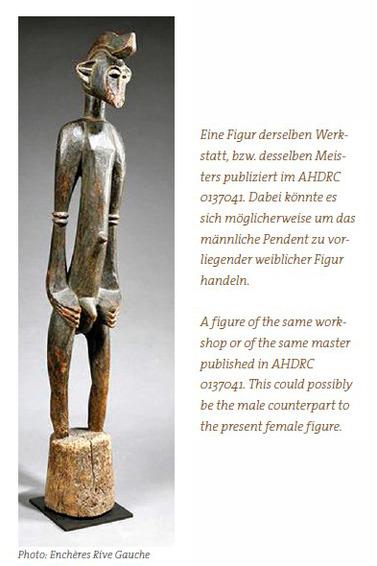 "Female figure ""deble"", ""doogele"" or ""poro piibele"""
