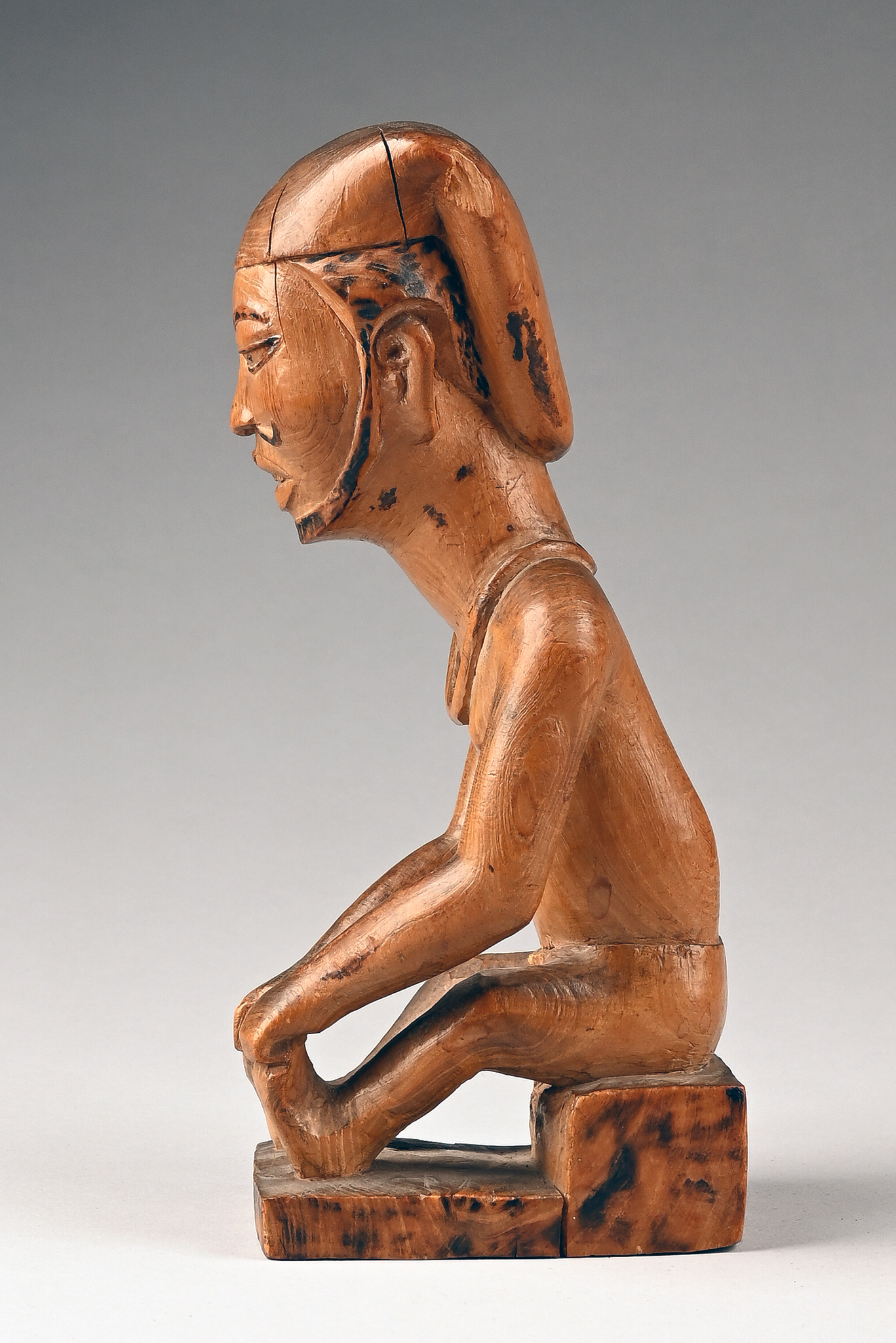 Seated male dignitary