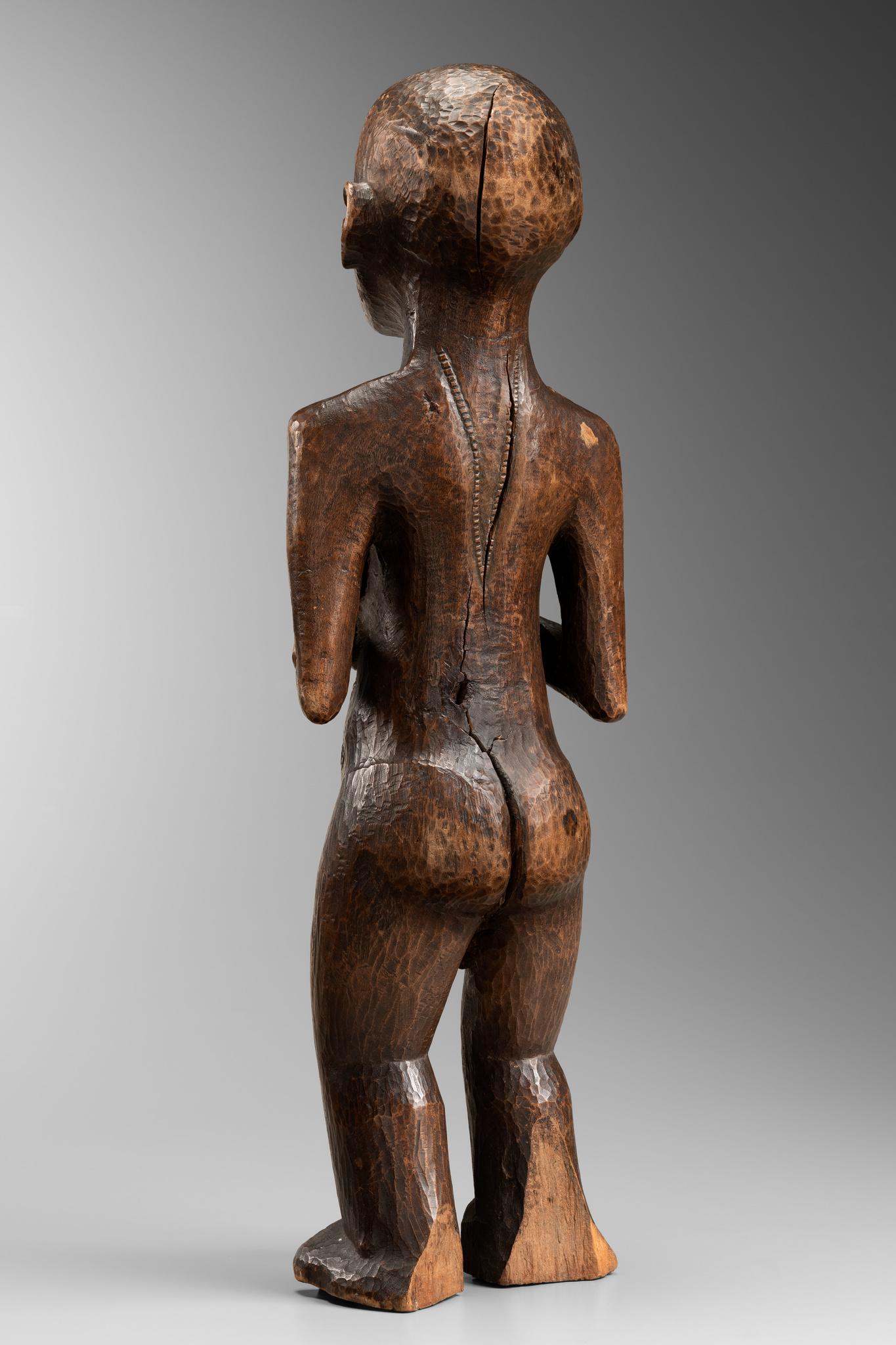 Rare female figure of the Bemba